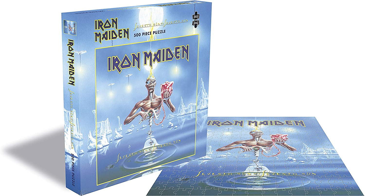 Puzzle Rock Saws  Seventh Son of a Seventh Son, Iron Maiden 500p
