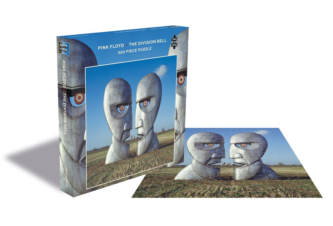 Puzzle Rock Saws The Division Bell, Pink Floyd de 500 Piezas