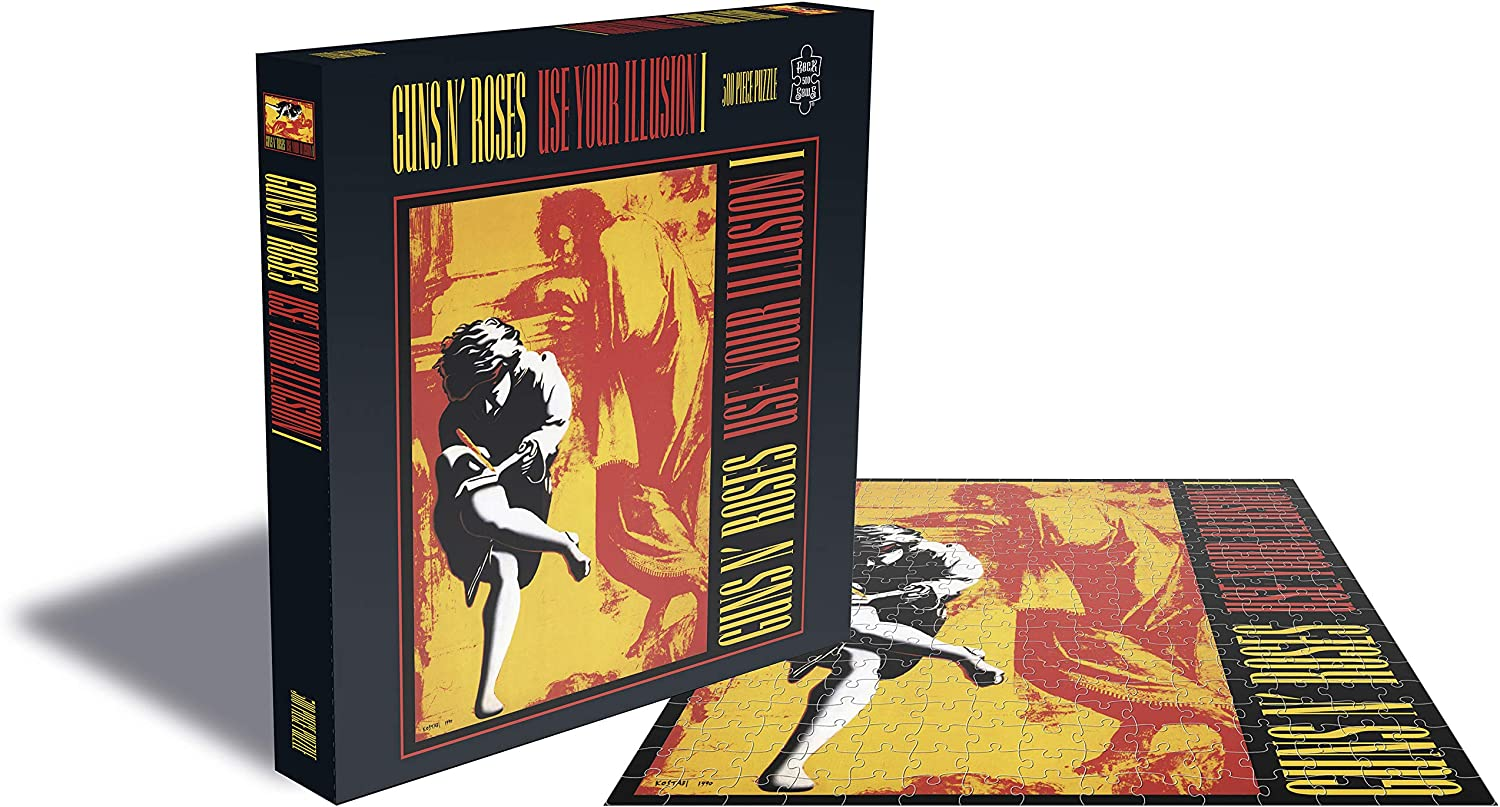Puzzle Rock Saws Use Your Illusion I, Guns N' Roses 500p
