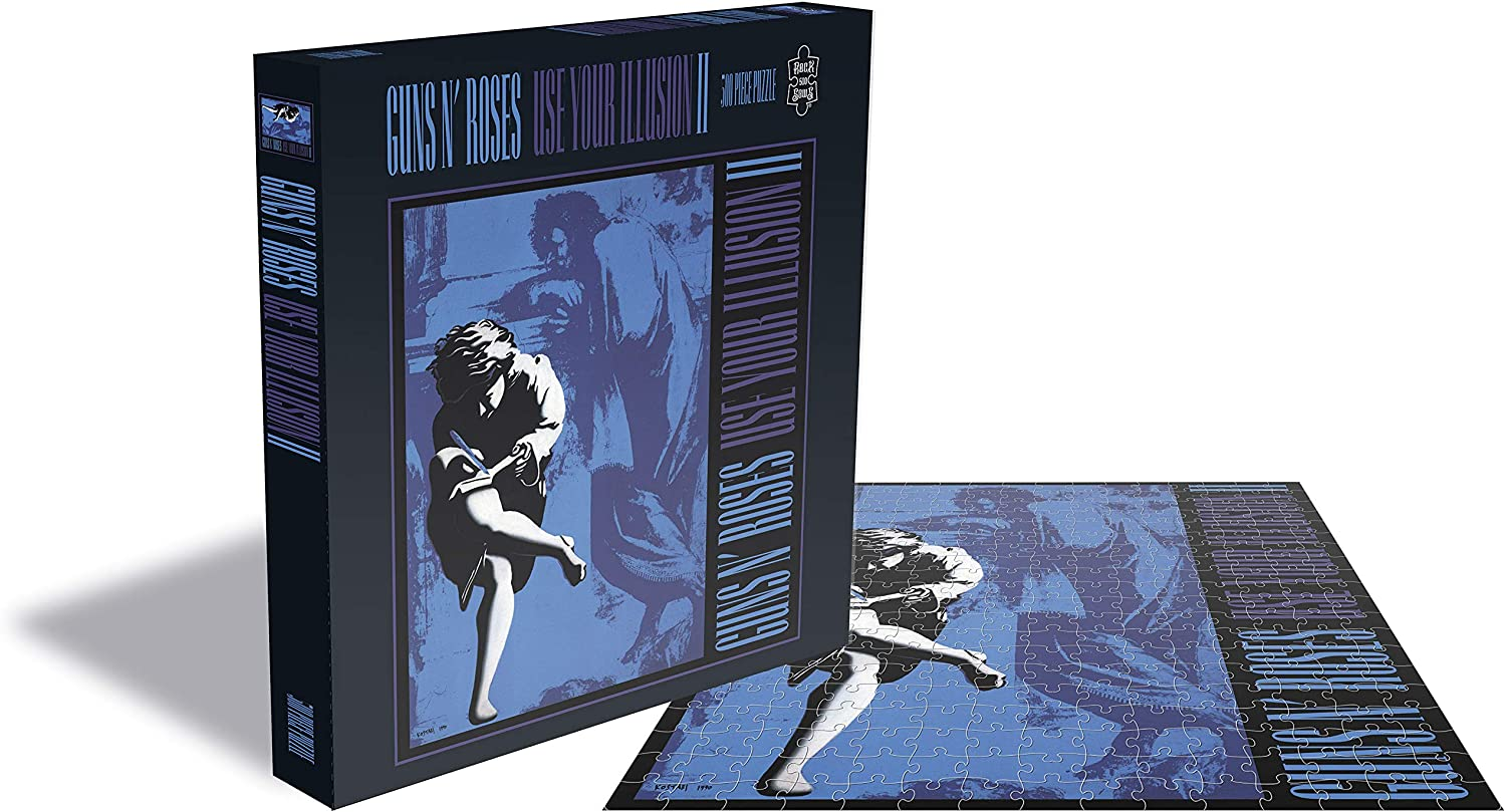 Puzzle Rock Saws Use Your Illusion II, Guns N' Roses 500p