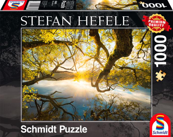 Puzzle Schmidt Abrazo Dorado de 1000 Piezas