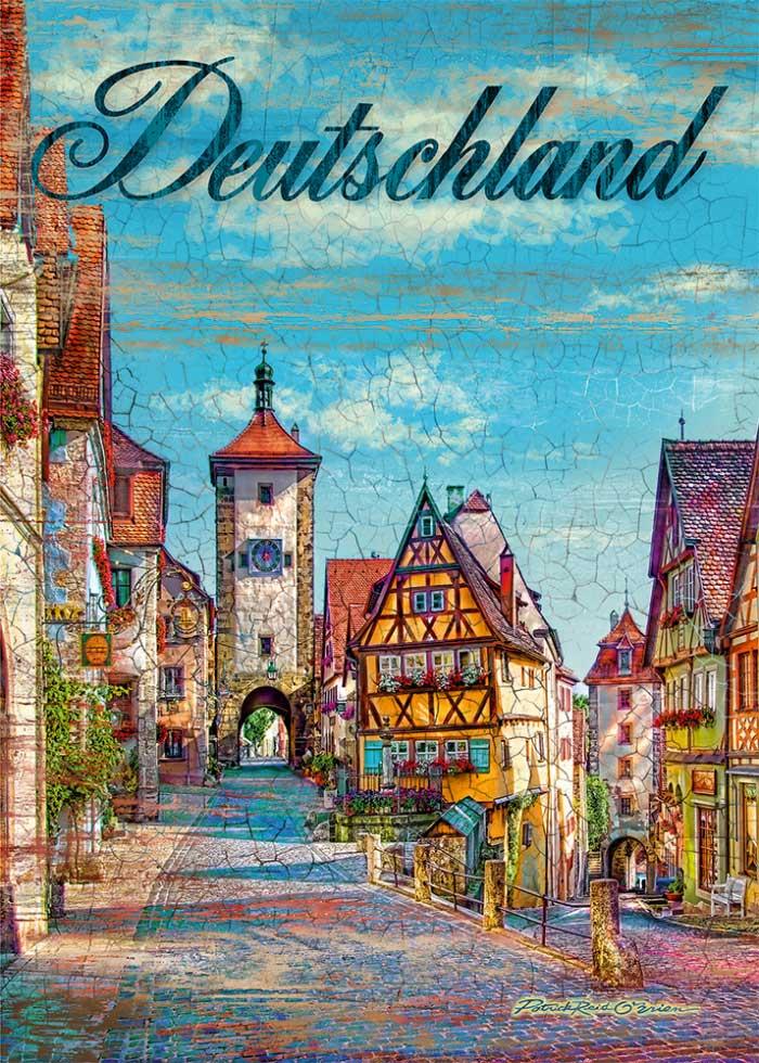 Puzzle Schmidt Alemania  de 1000 Piezas