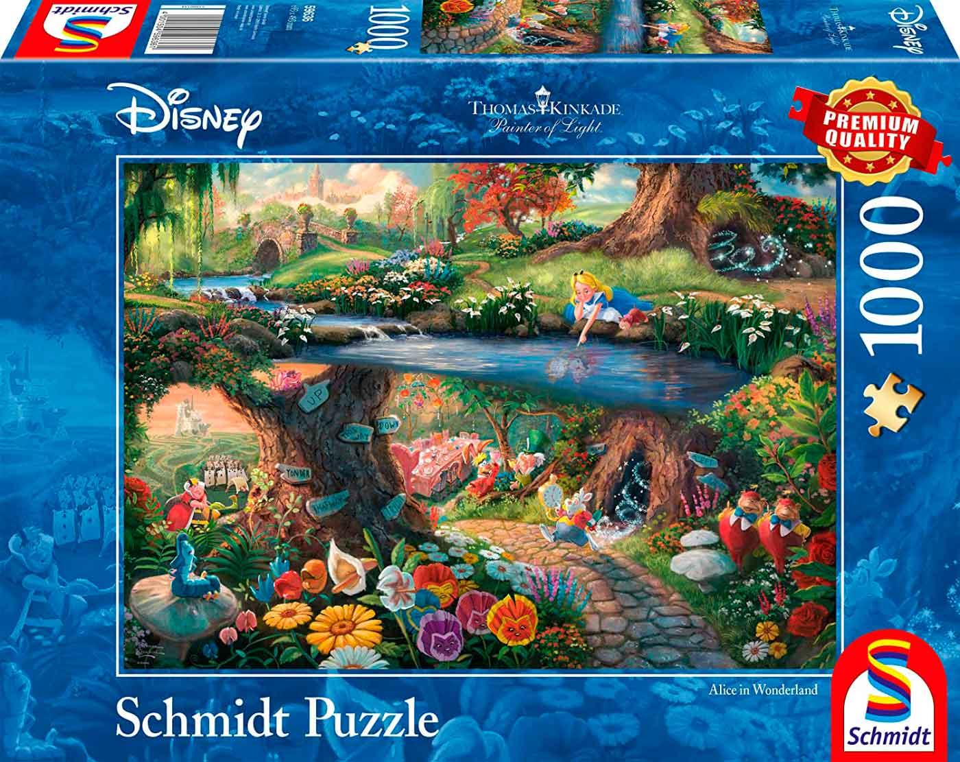 Puzzle Schmidt Alicia en el País de las Maravillas de 1000 Pieza