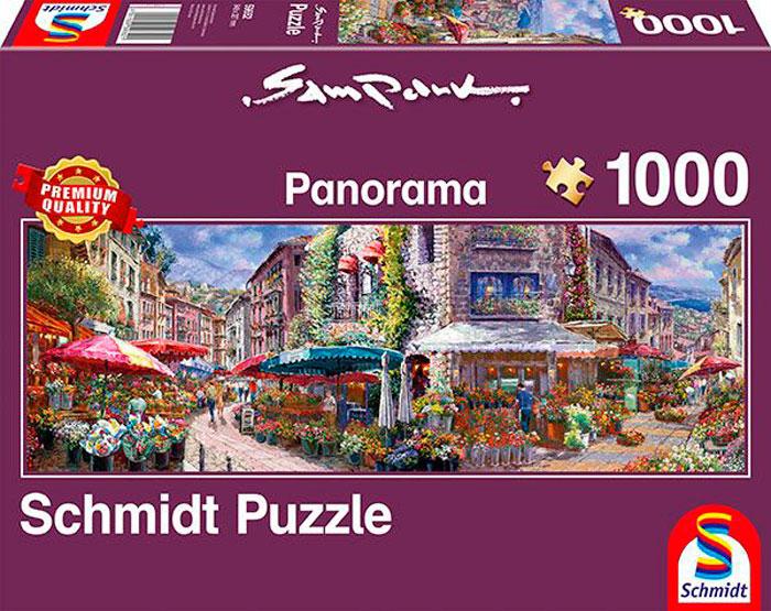 Puzzle Schmidt Ambiente Primaveral Panorama de 1000 Pzs