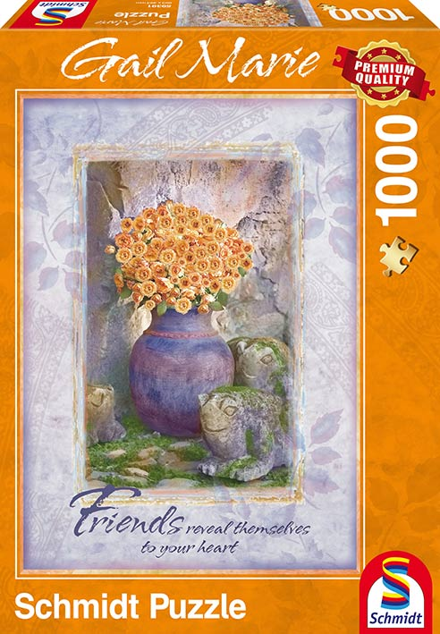 Puzzle Schmidt Amigos, Gail Marie de 1000 Piezas