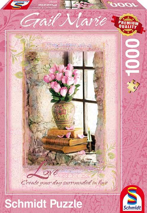Puzzle Schmidt Amor, Gail Marie de 1000 Piezas
