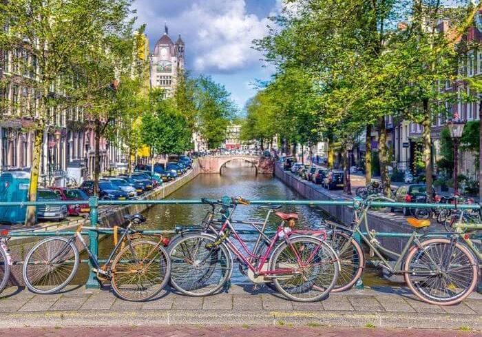 Puzzle Schmidt Amsterdam de 500 Piezas