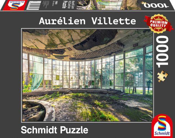 Puzzle Schmidt Antiguo Café en Abjasia de 1000 Piezas