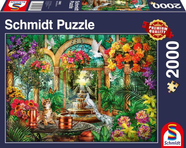 Puzzle Schmidt Atrio de 2000 Piezas