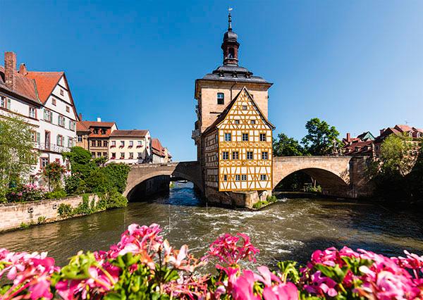 Puzzle Schmidt Bamberg, Bavaria de 1000 Pieza