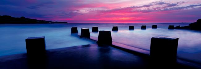 Puzzle Schmidt Baños del Mar Coogee, Sydney de 1000 Piezas