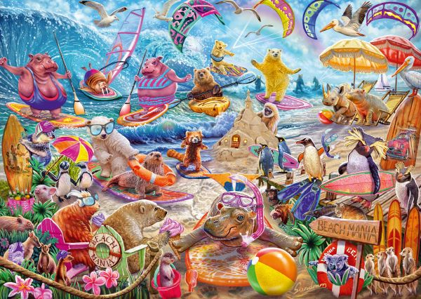 Puzzle Schmidt Beach Mania de 1000 Piezas