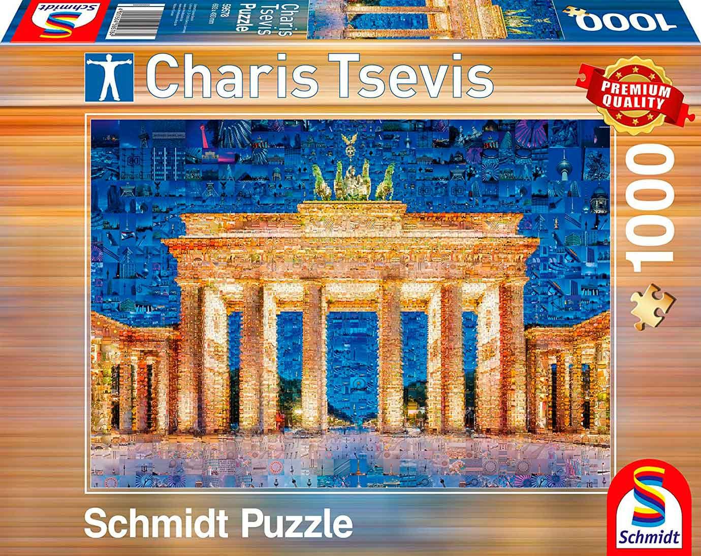 Puzzle Schmidt Berlin de 1000 Piezas