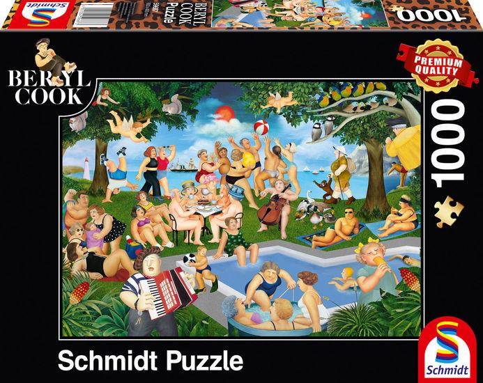 Puzzle Schmidt Buenos Tiempos de 1000 Piezas