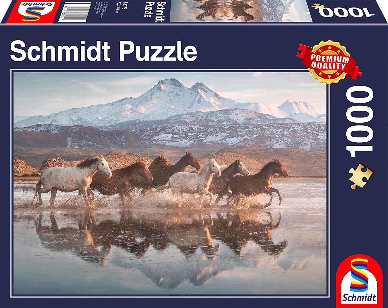 Puzzle Schmidt  Caballos en la Capadocia de 1000 Piezas