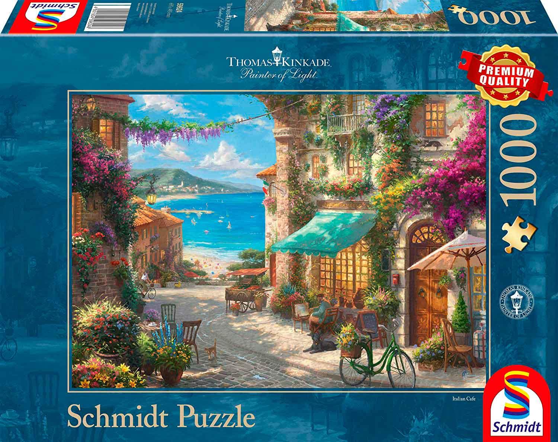 Puzzle Schmidt Café Riviera de 1000 Piezas