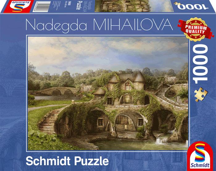 Puzzle Schmidt Casa en la Naturaleza de 1000 Piezas