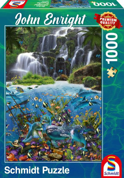 Puzzle Schmidt Cascada de 1000 Piezas