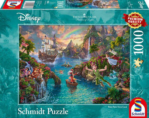 Puzzle Schmidt Disney Peter Pan de 1000 Piezas