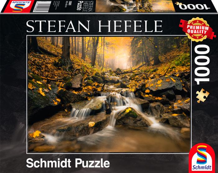 Puzzle Schmidt Cascadas Misteriosas de 1000 Piezas