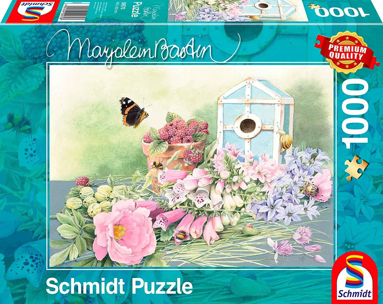 Puzzle Schmidt Casita de Veraneo de 1000 Piezas