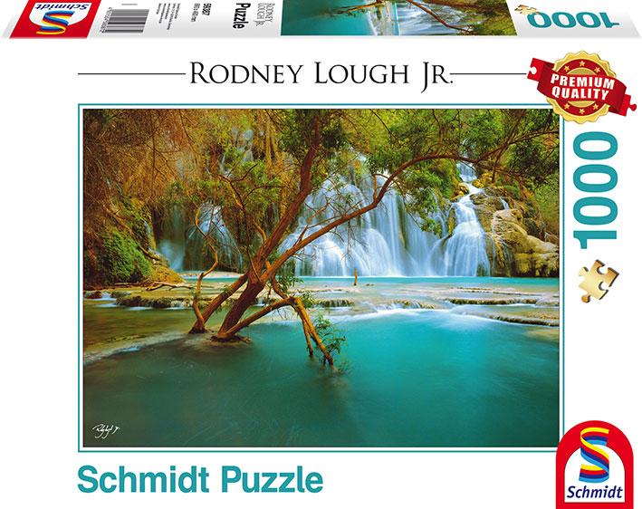 Puzzle Schmidt Catarátas en el Lago de 1000 Piezas