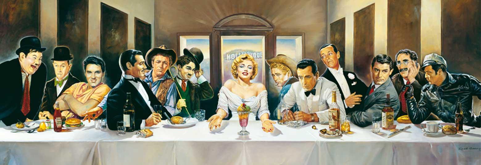 Puzzle Schmidt Cena de los Famosos, Invitación de 1000 Piezas