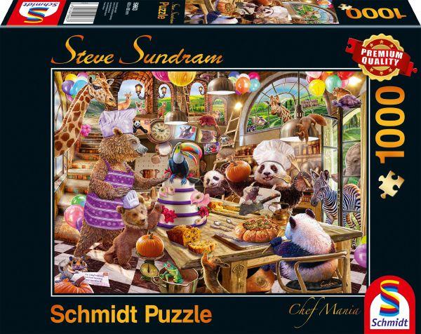 Puzzle Schmidt Chef Mania de 1000 Piezas