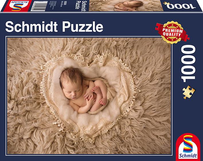 Puzzle Schmidt Corazón de Bebé de 1000 Piezas