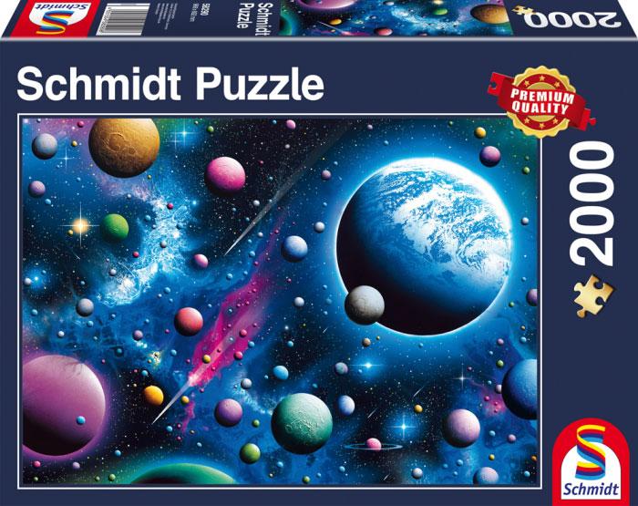 Puzzle Schmidt Cosmos Cautivador de 2000 Piezas