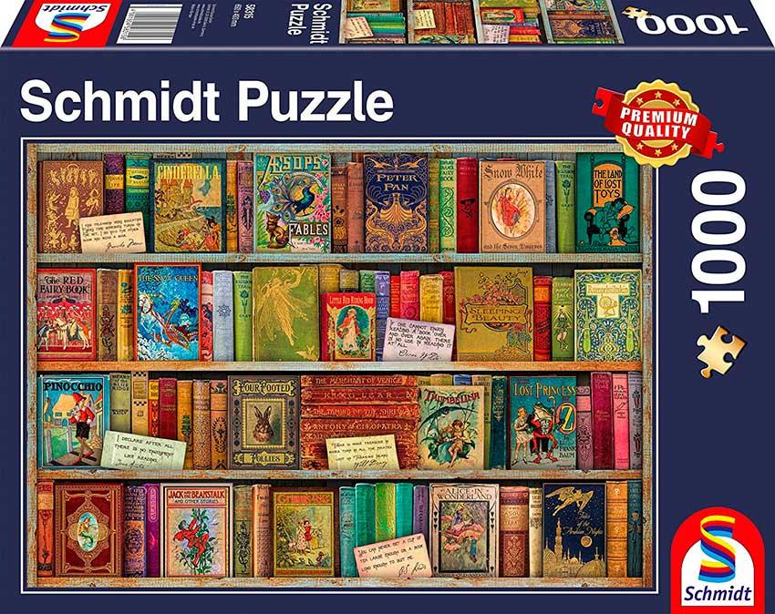 Puzzle Schmidt Cuentos de Hadas de 1000 Piezas