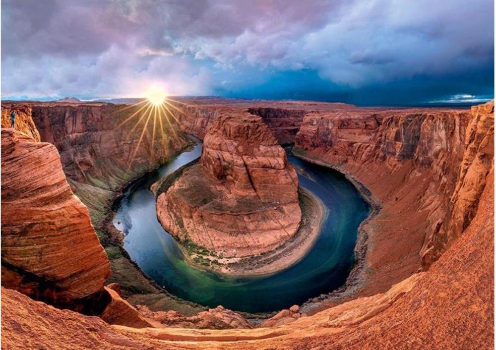 Puzzle Schmidt Curva de la Herradura, Glen Canyon de 1000 Pzs