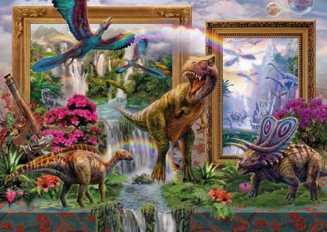 Puzzle Schmidt Dinosaurios de 1000 Piezas