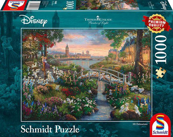 Puzzle Schmidt Disney 101 Dálmatas de 1000 Piezas