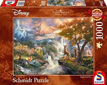 Puzzle Schmidt Disney Bambi de 1000 Piezas