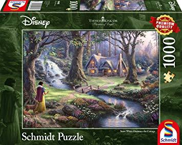 Puzzle Schmidt Disney Blancanieves de 1000 Piezas