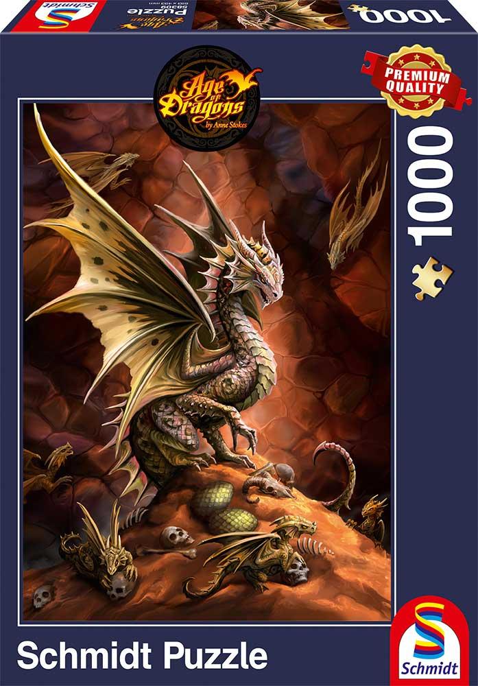 Puzzle Schmidt Dragón del Desierto de 1000 Piezas