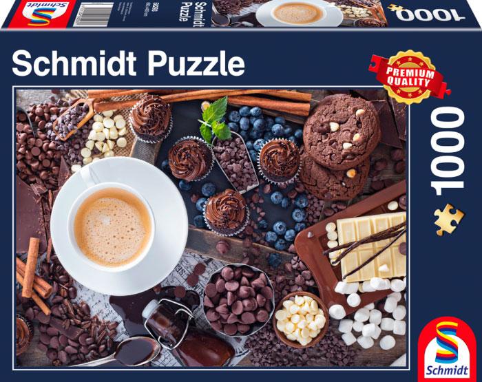 Puzzle Schmidt Dulce Desayuno  de 1000 Piezas