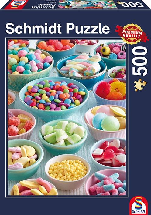 Puzzle Schmidt Dulces Tentaciones de 500 Piezas