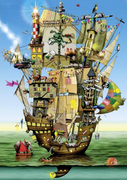 Puzzle Schmidt El Arca de Noe de 1000 Piezas