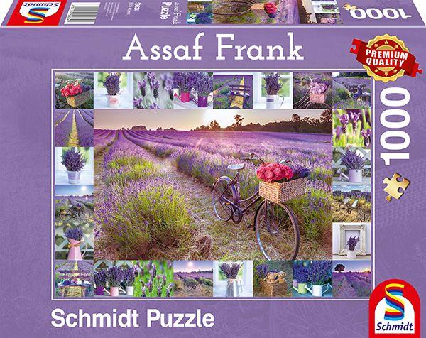 Puzzle Schmidt El Aroma de la Lavanda de 1000 Piezas