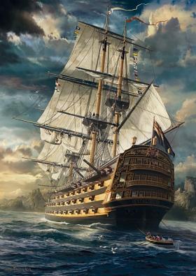 Puzzle Schmidt El Barco de 1000 Piezas