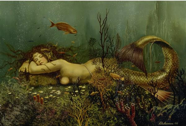 Puzzle Schmidt El Descanso de la Sirena de 1000 Piezas