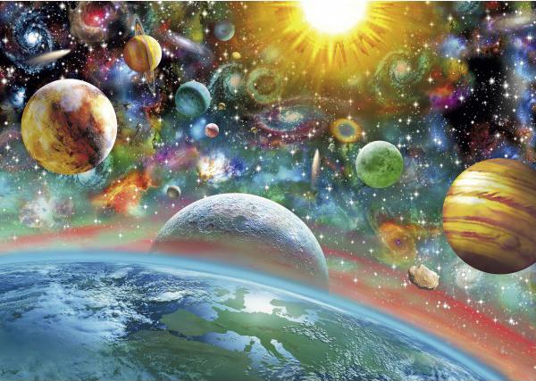 Puzzle Schmidt El Espacio, Sistema Solar de 1000 Piezas