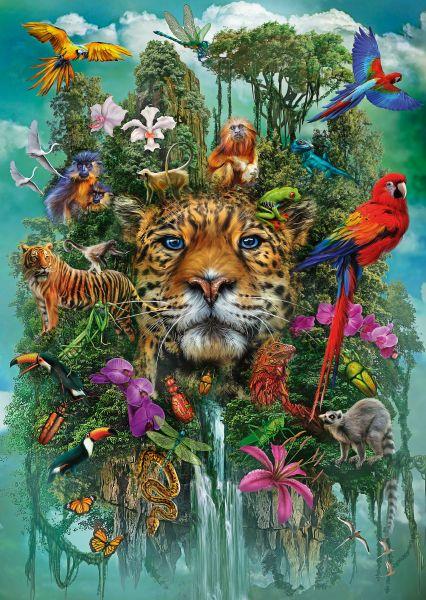 Puzzle Schmidt El Rey de la Selva de 1000 Piezas