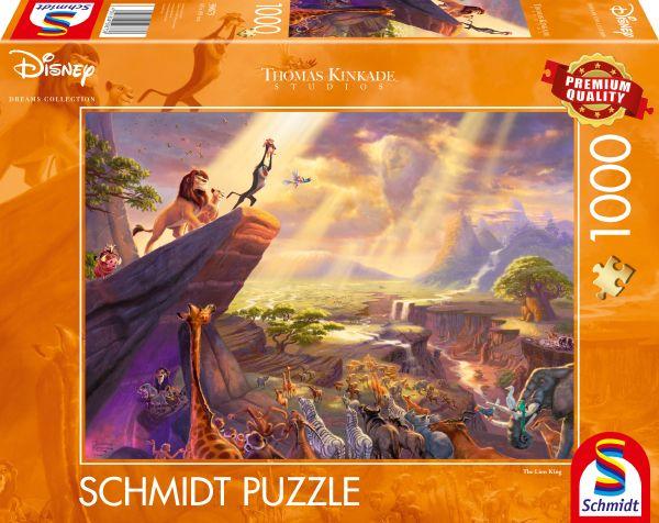 Puzzle Schmidt El Rey León de 1000 Piezas