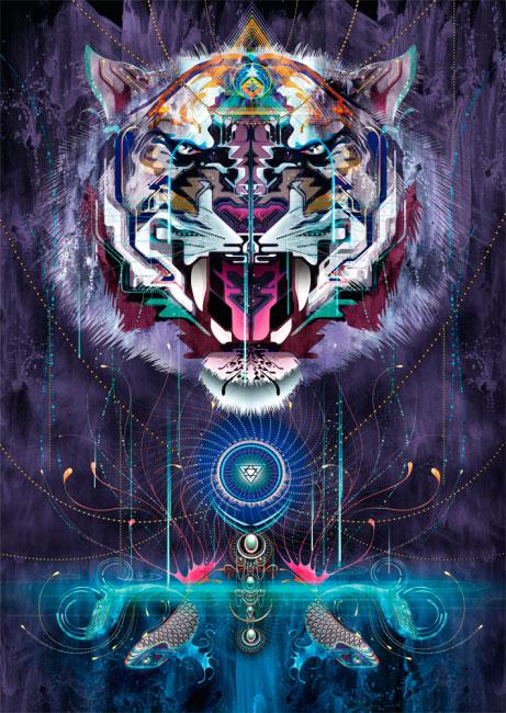 Puzzle Schmidt El Rugido del Tigre de 1000 Piezas