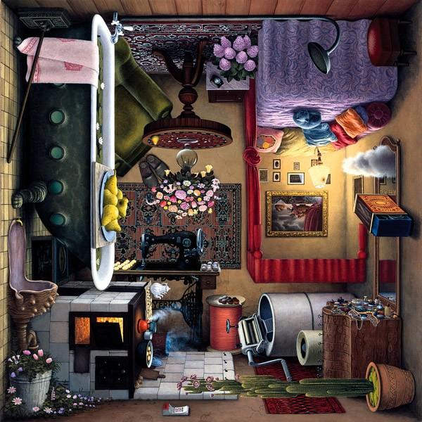 Puzzle Schmidt El Tocador, Boudoir de 1000 Piezas