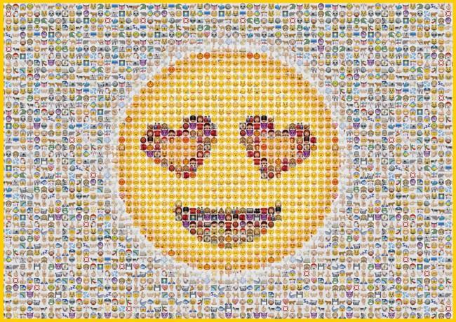 Puzzle Schmidt Emoticonos de 1000 Piezas