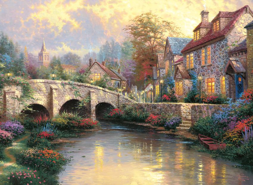 Puzzle Schmidt En el Puente de 1000 Piezas